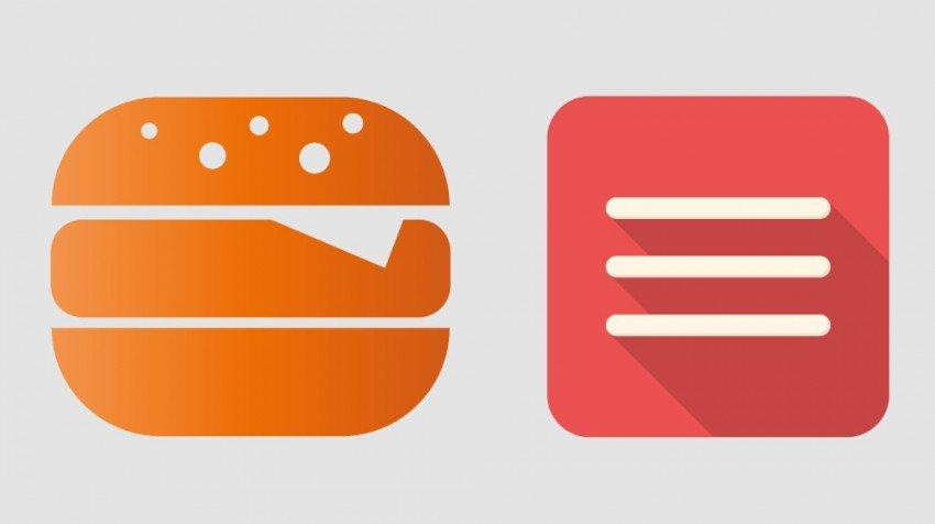 Hamburger Menu – 20 nowych stylów